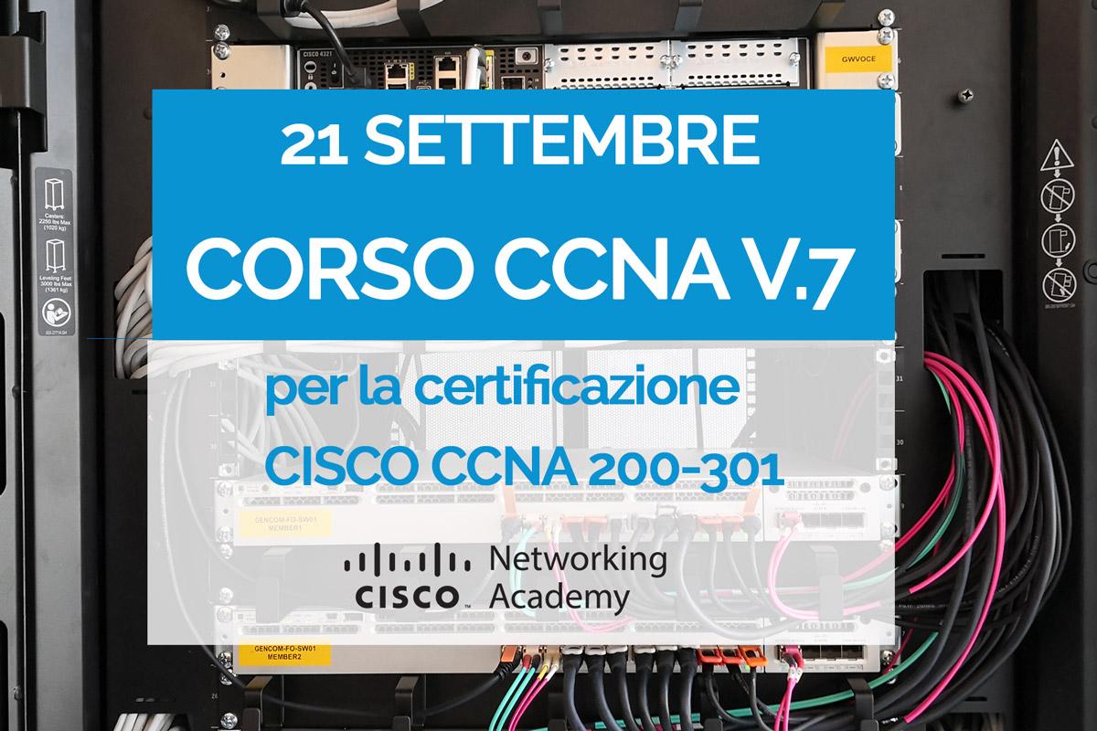 Corso CISCO CCNA v.7